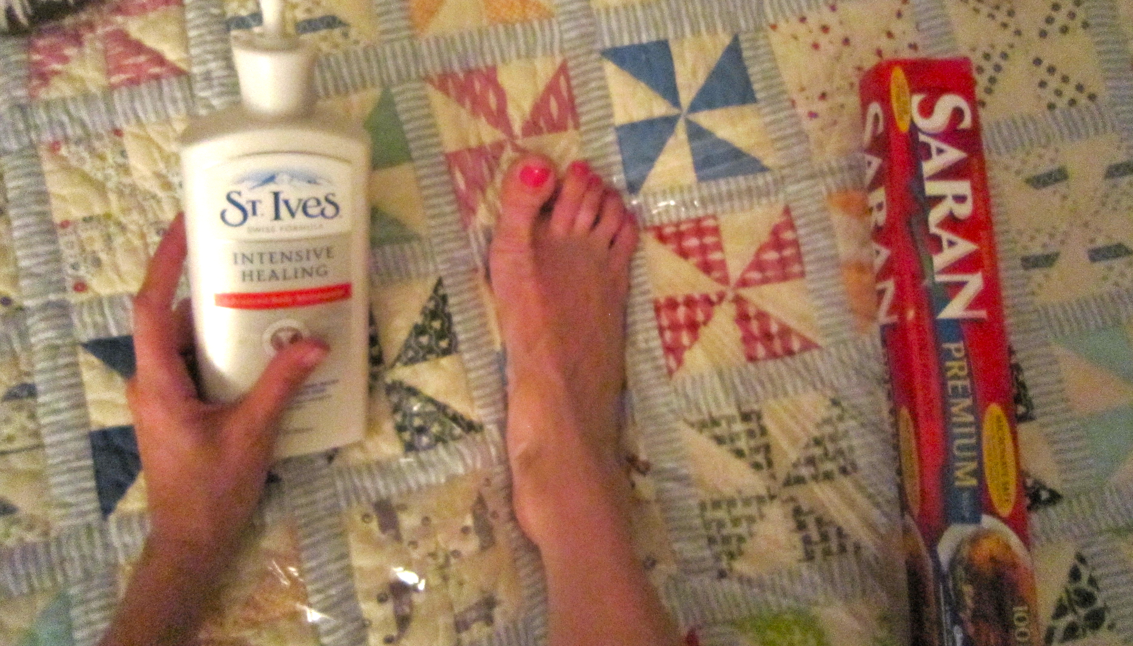 I Actually Saran-Wrapped My Feet Last Night – Ramshackle Glam