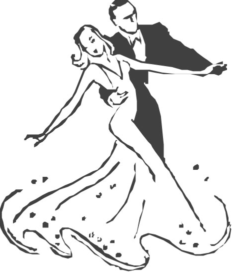 Танец пара рисунок карандашом