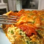 Mom's Spinach Lasagna