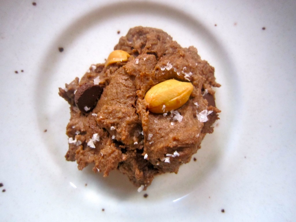 Salted Double Chocolate Peanut Butter Cookies | Ramshackle ...