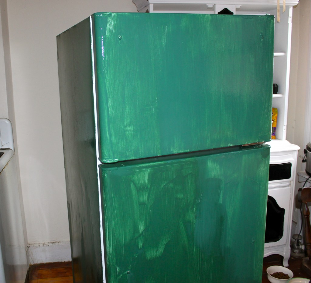 Diy Chalkboard Refrigerator Ramshackle Glam