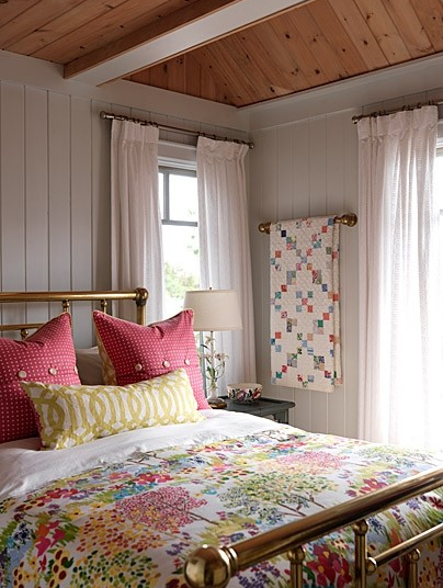 Accessible Decor Colorful Country Bedroom Ramshackle Glam