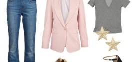 How-To: Wear A Pale Pink Blazer
