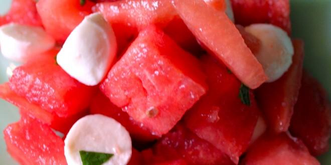 Aunt Jo's Watermelon Salad