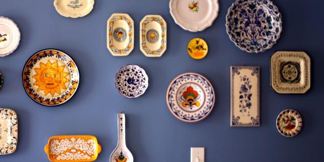 DIY Inspiration: China Gallery Wall