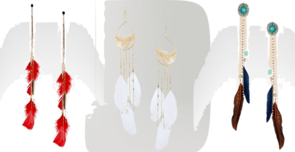 Now These Are Statement Earrings