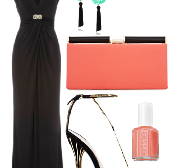 How-To: Black-Tie Color Pop