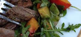 Peach, Avocado & Arugula: Not Your Average Side Salad