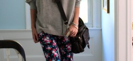 Simple For Fall (And Floral Jeans Tips)