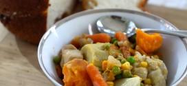 Easy Crockpot Chicken Stew