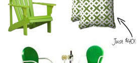Lust Object: Lime-Green Outdoor Furniture