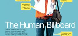 Time Magazine: The Human Billboard