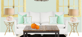 If A Pumpkin Were A Living Room
