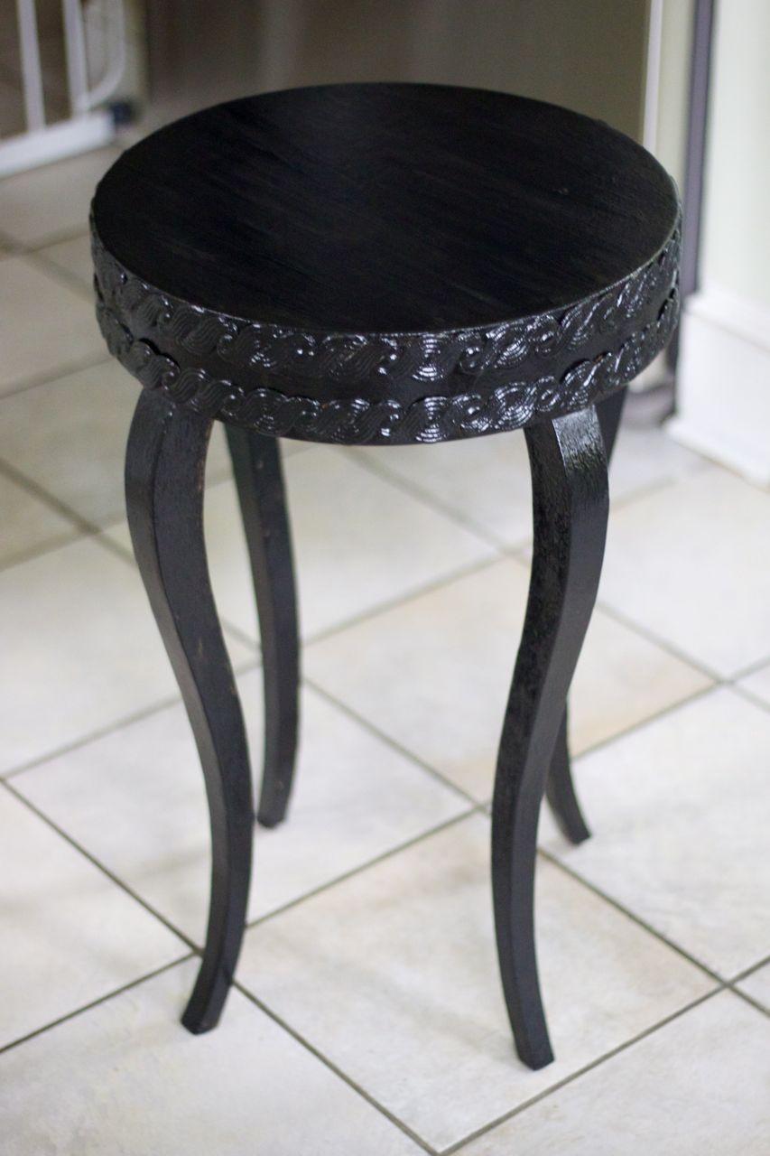 diy glitter furniture. Diy Black Glitter Table After Ramshackle Glam Furniture L