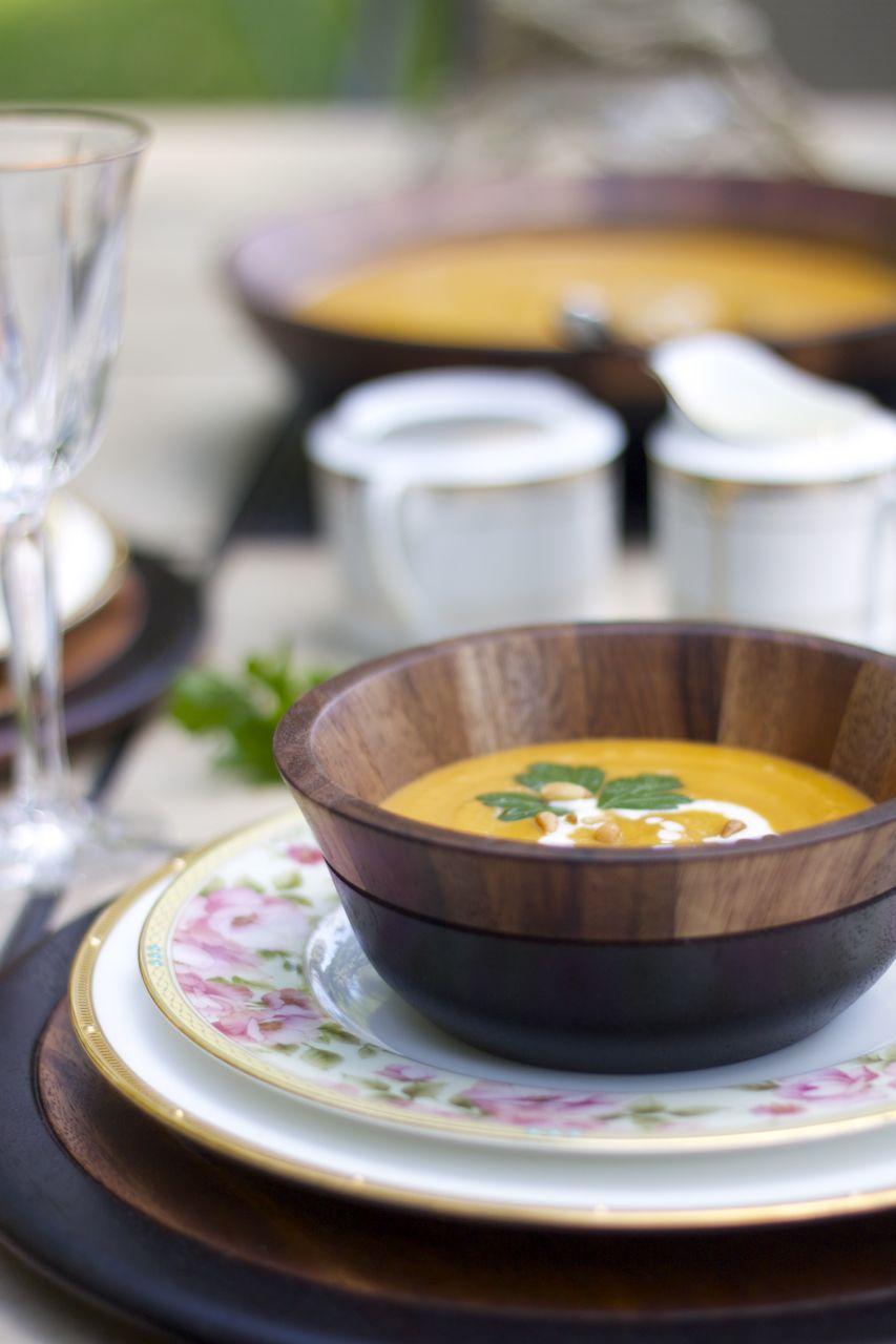 noritake ramshackle glam pumpkin soup 2