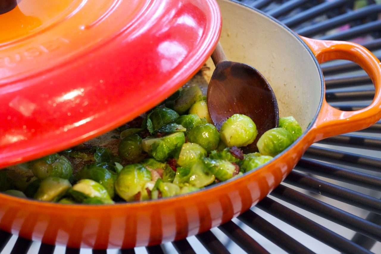 Brussels Sprouts with Bacon – Ramshackle Glam