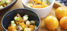 Simple Thanksgiving Side Dish: Butternut Squash, Apple & Pecan Salad