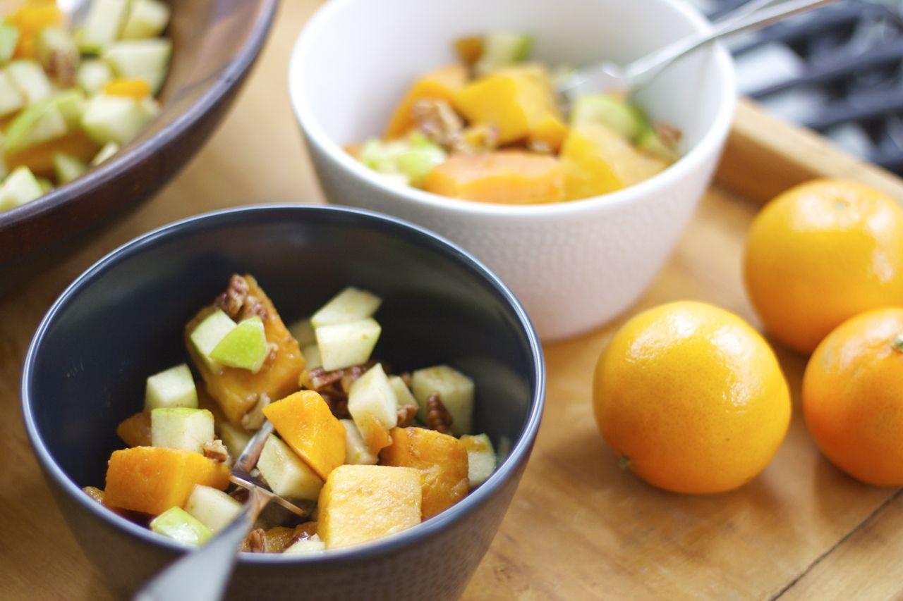butternut squash apple salad