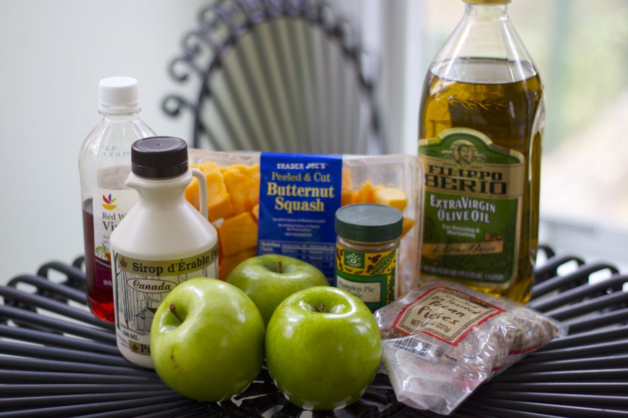 butternut squash salad ingredients