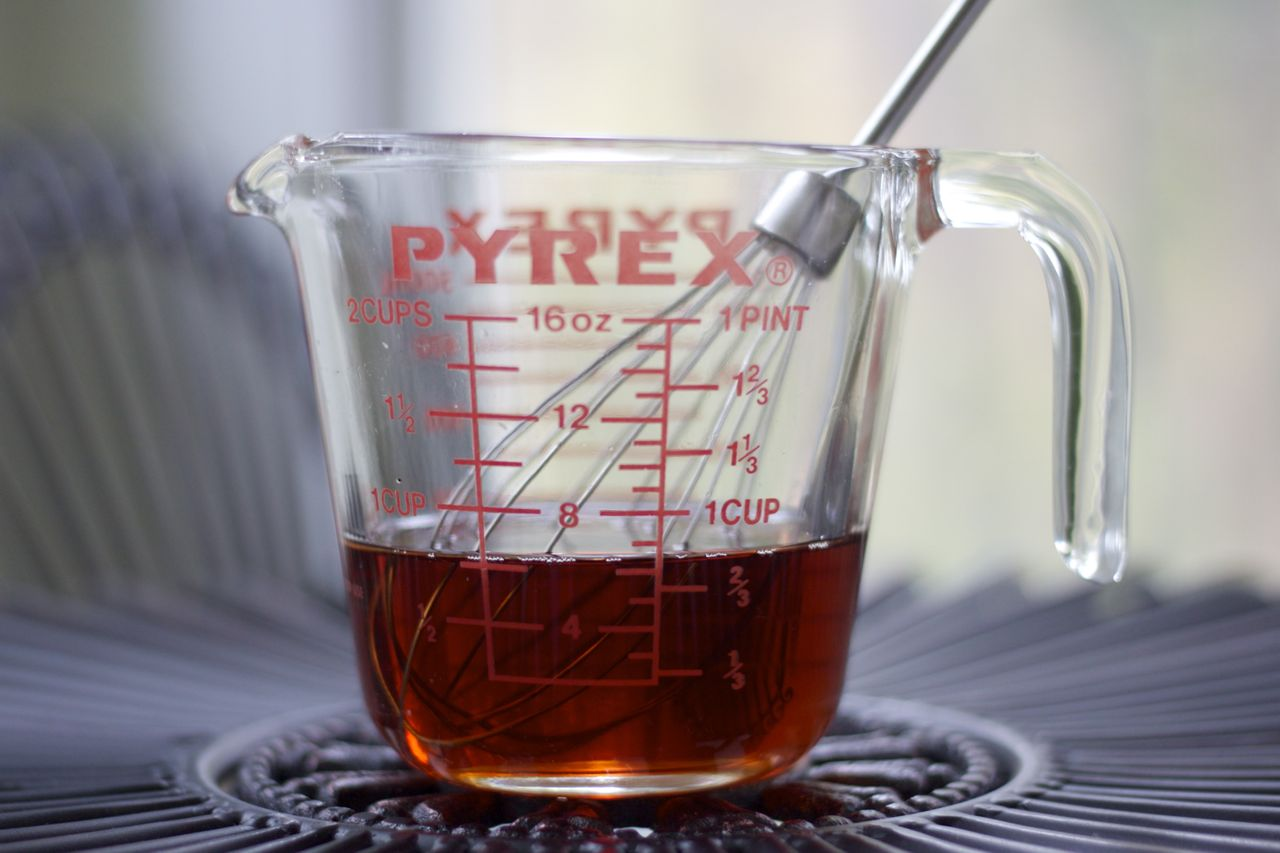 maple syrup dressing
