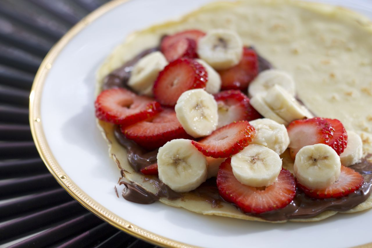 Strawberry, Banana & Nutella Crepes – Ramshackle Glam