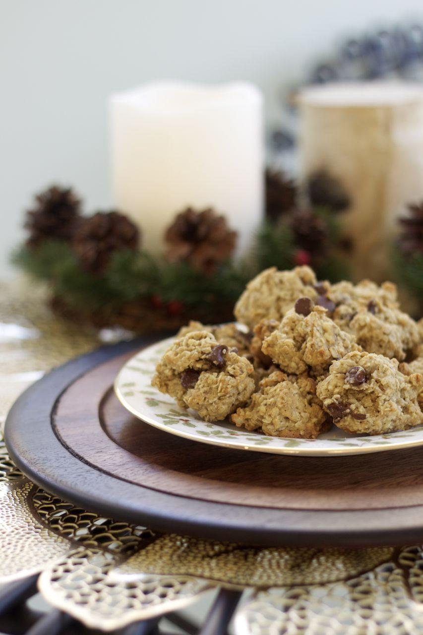 Santa's Oatmeal-Chocolate Chip Cookies – Ramshackle Glam