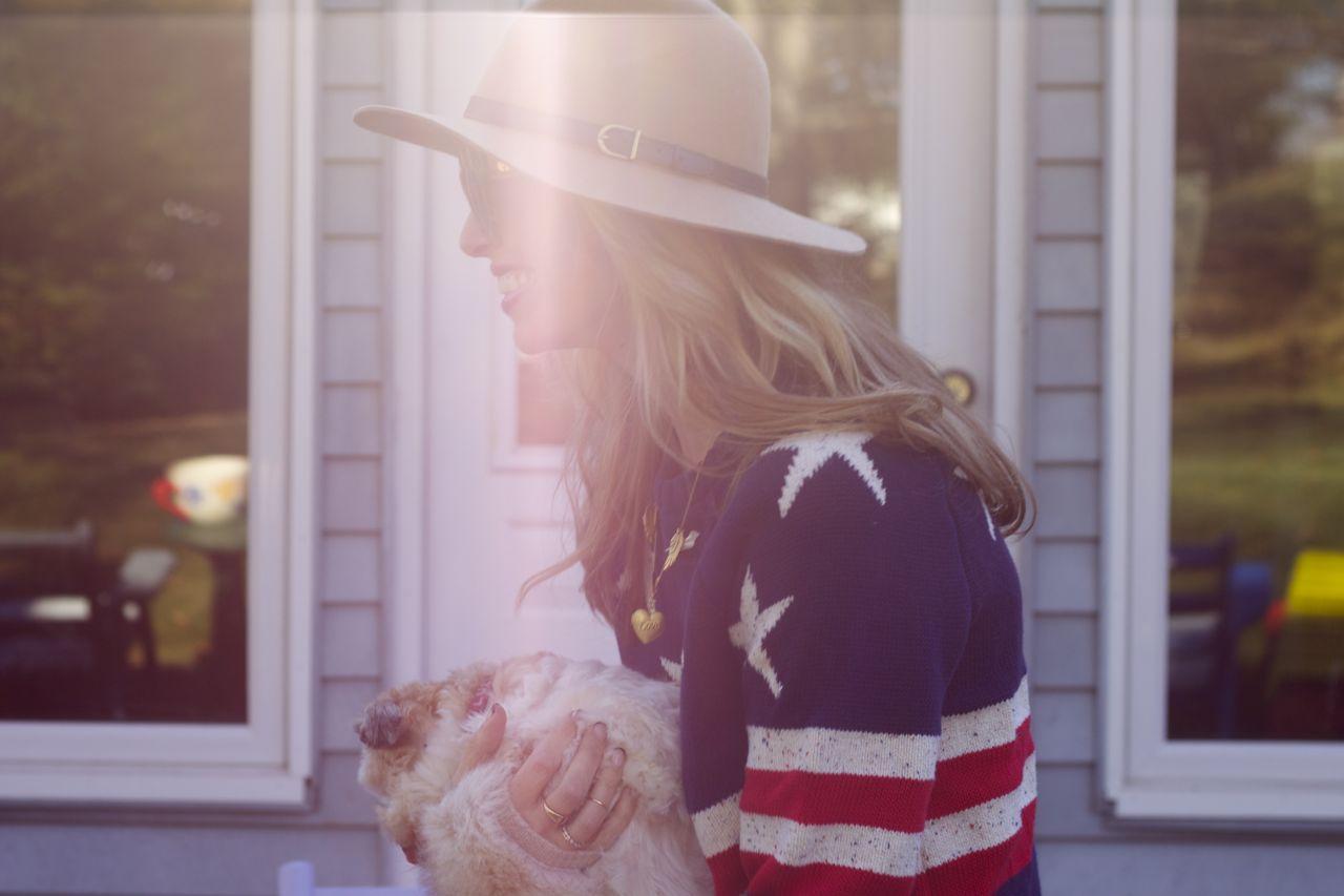 Stars & Stripes & Stolen Sweaters – Ramshackle Glam