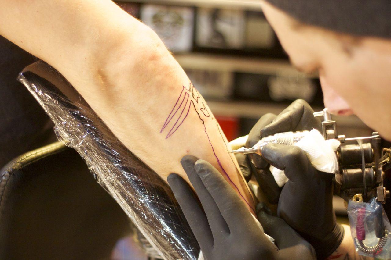 addiction nyc tattoo