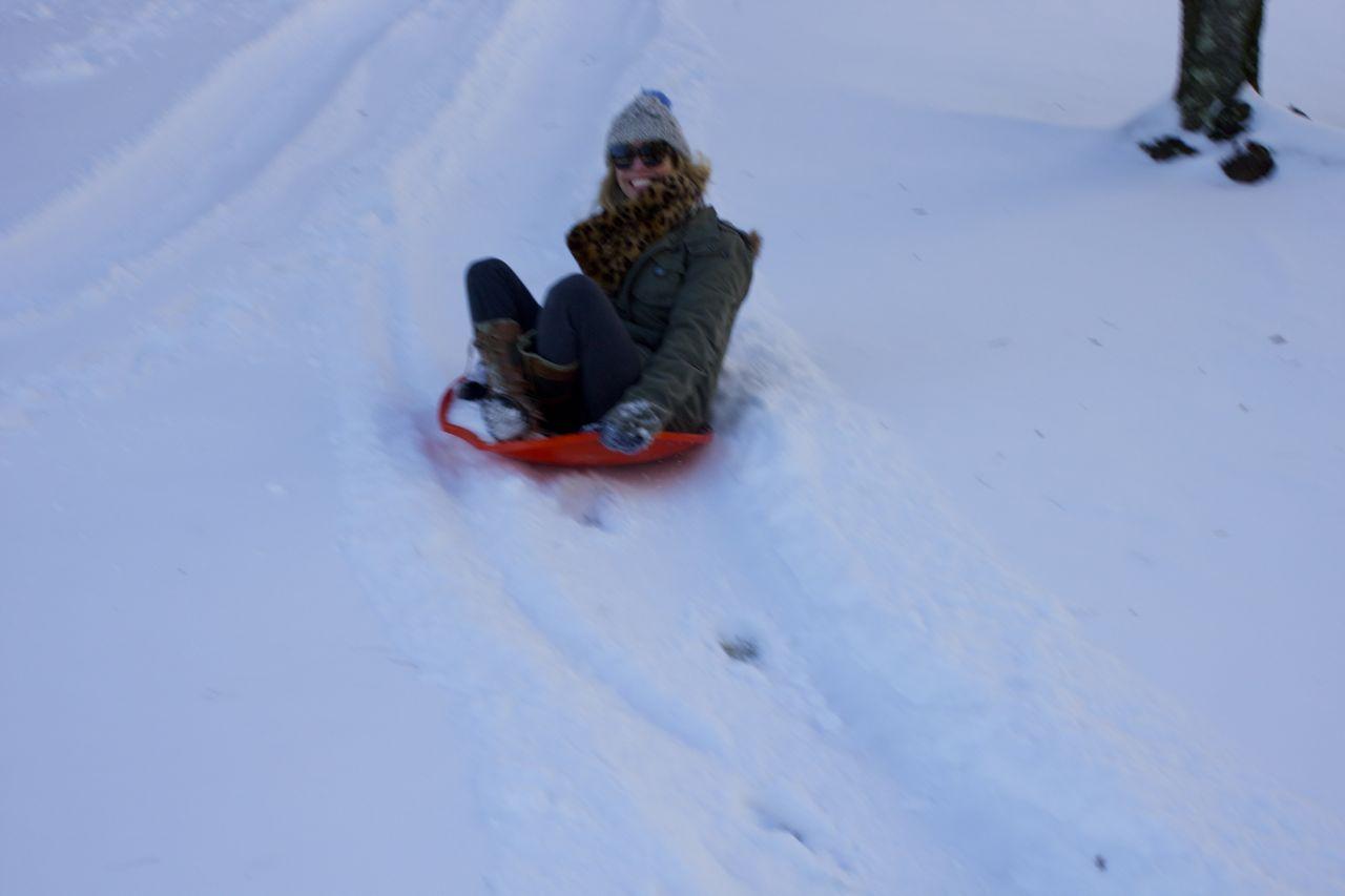 jordan sledding