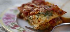 Spectacular Spinach Lasagna