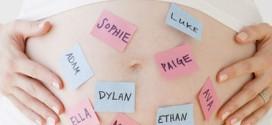 Top Ten Favorite Baby Girl Names