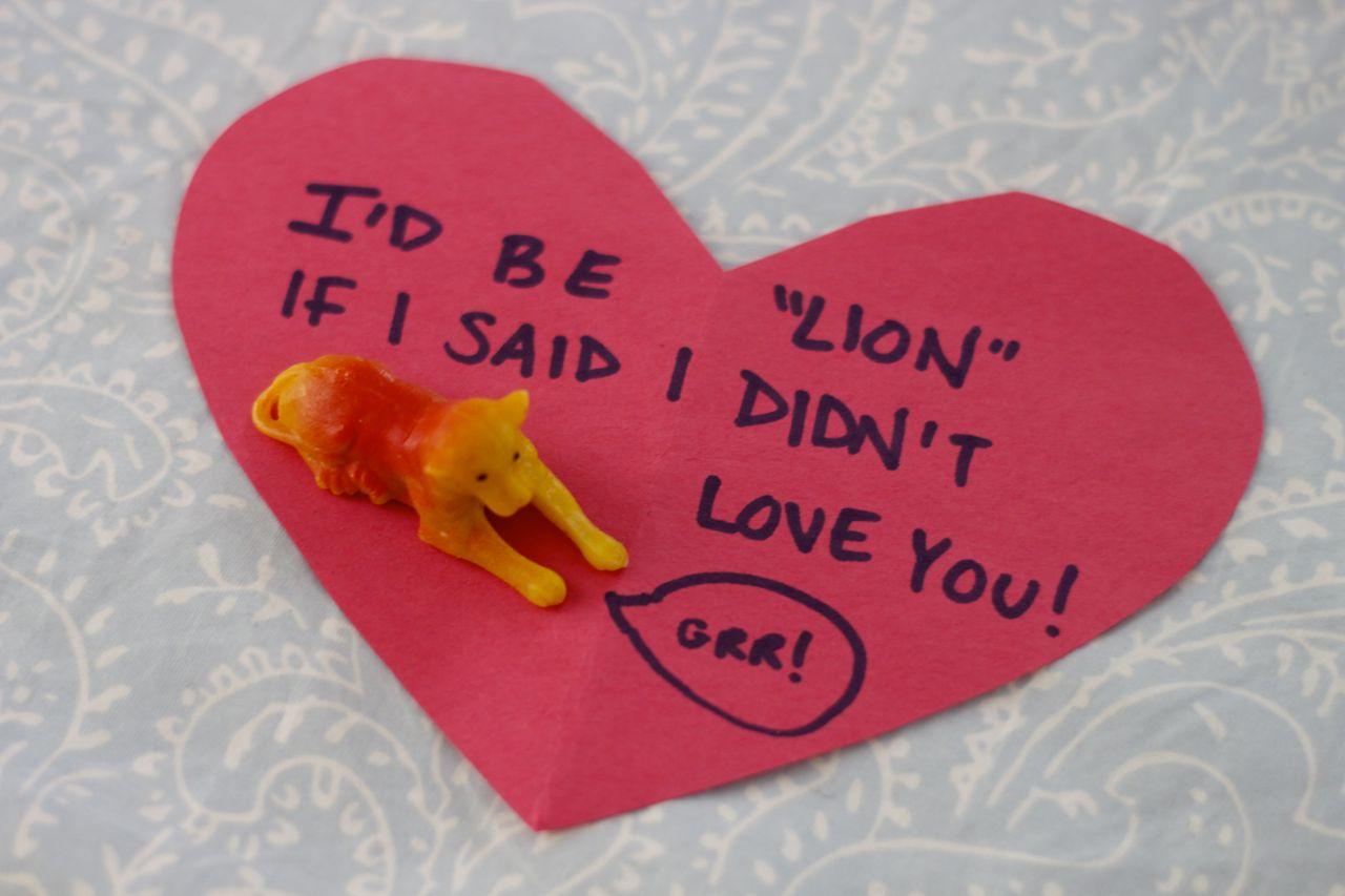 kid's valentine card