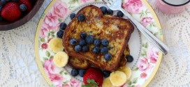 Blueberry-Cinnamon French Toast