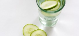 DIY Cucumber Hint Water