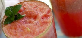 Watermelon Lime Mocktail (Or Cocktail)