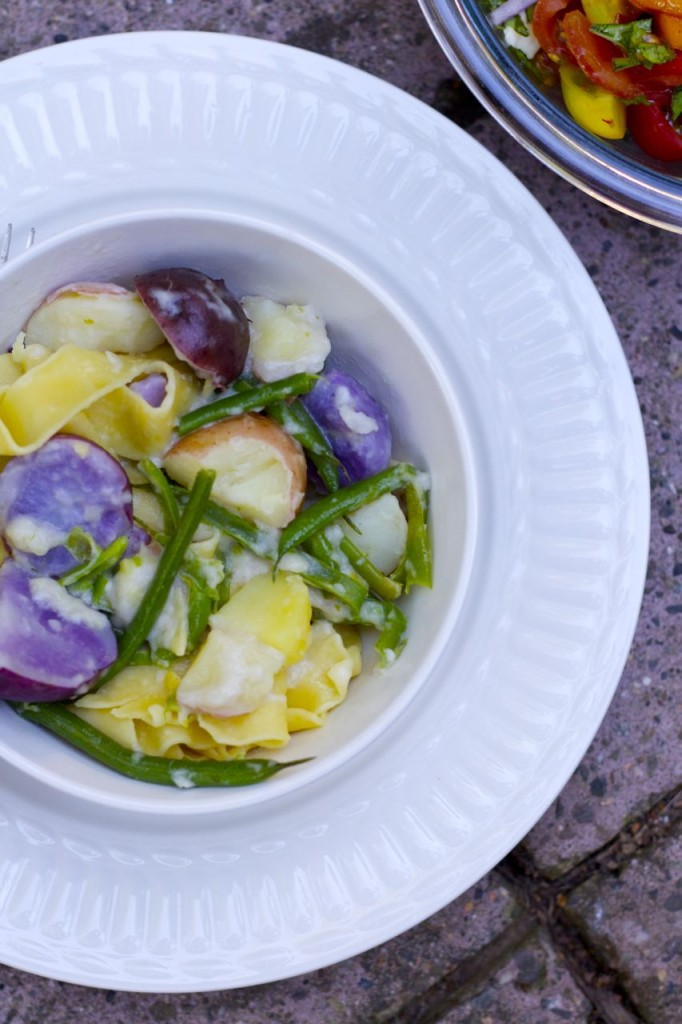 pappardelle potatoes