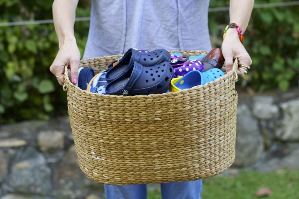 basket of crocs