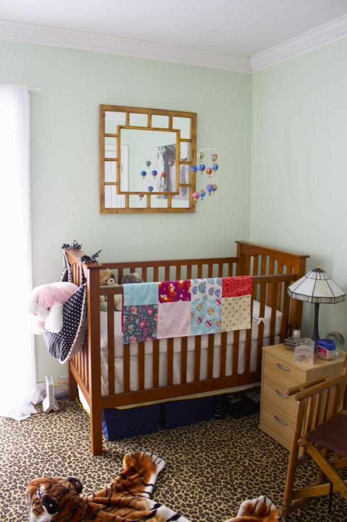 clean nursery