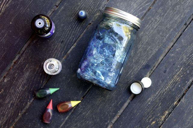 diy scented seaglass