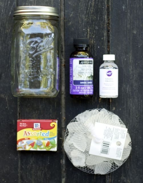 make seaglass potpourri