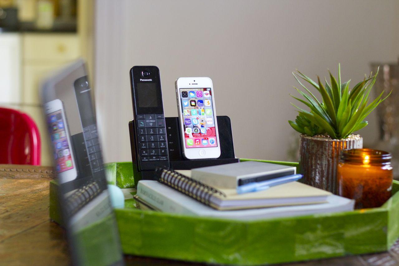 panasonic link2cell phone