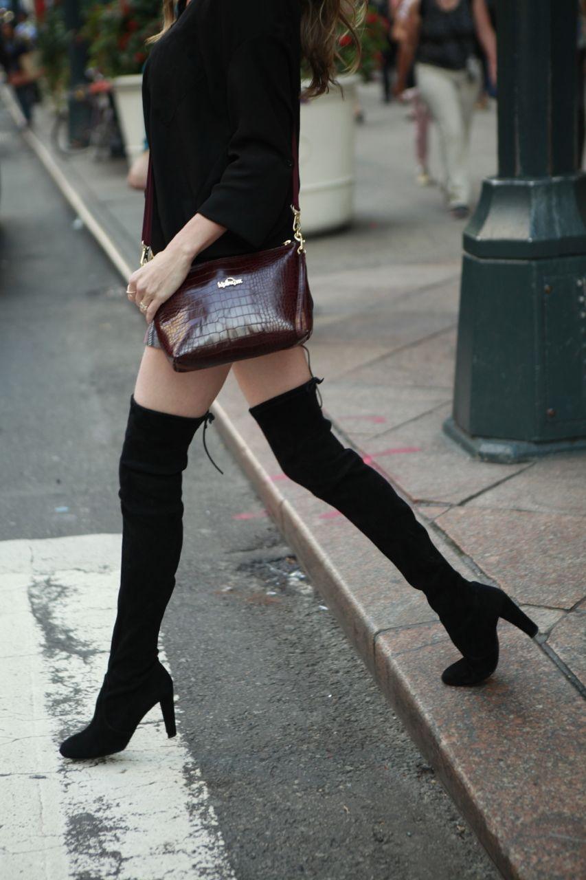 Stuart Weitzman Highland Boots - POPSUGAR Fashion