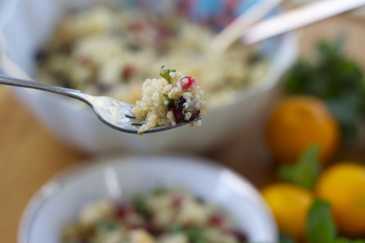 citrus quinoa