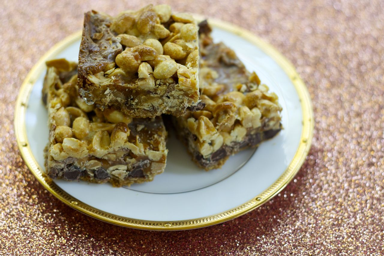 snickers 7 layer bars