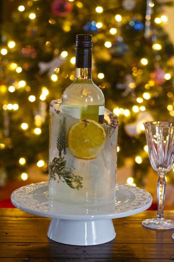 christmas wine chiller