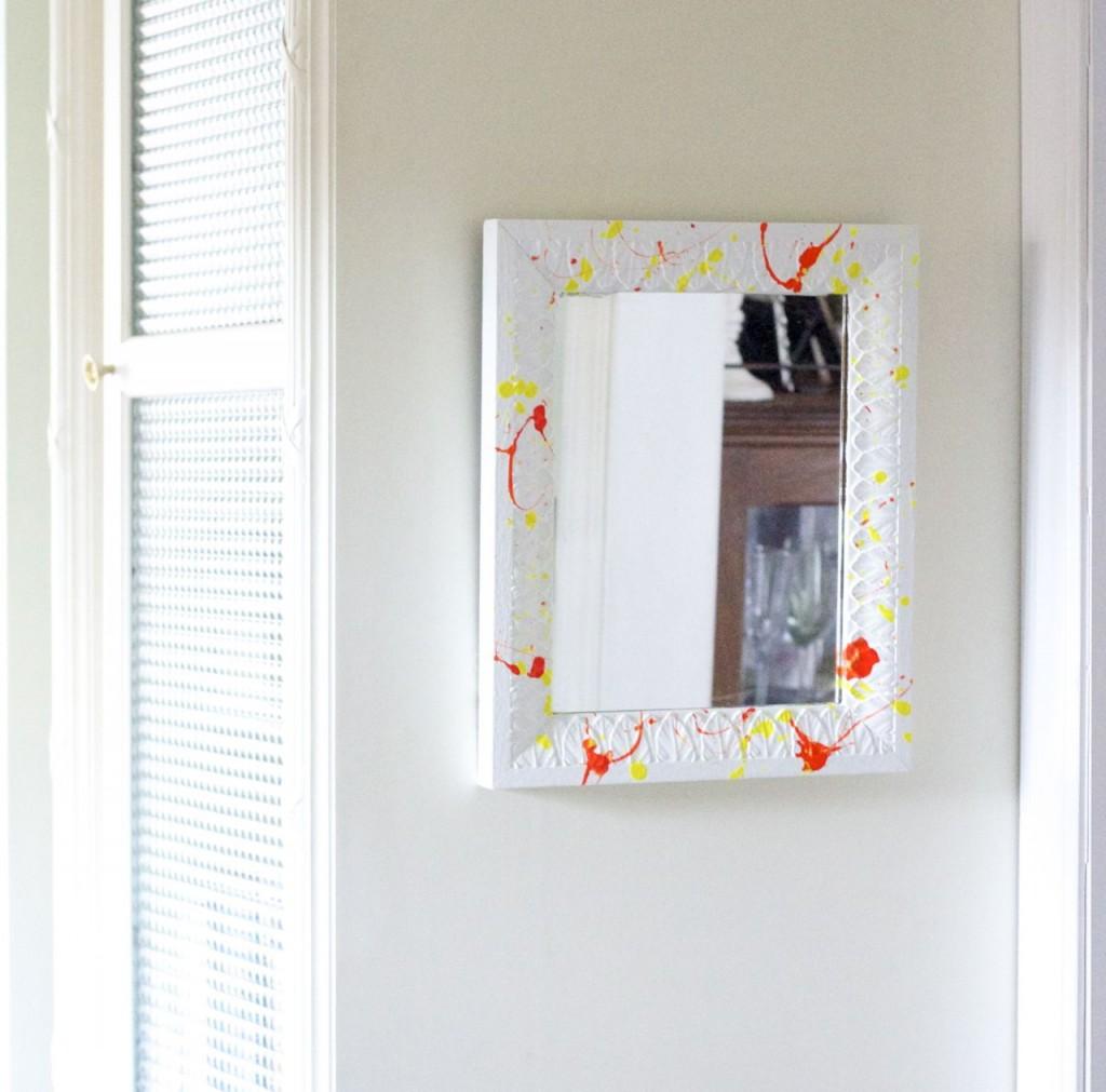 splatter mirror