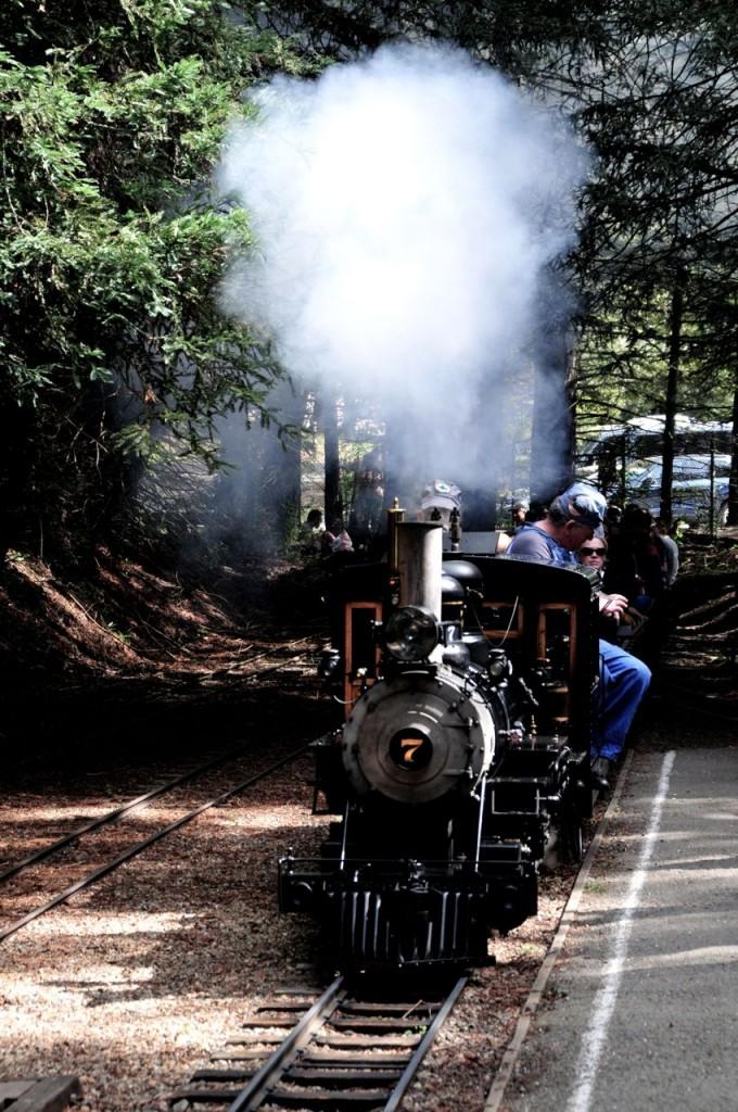 berkeley steam train