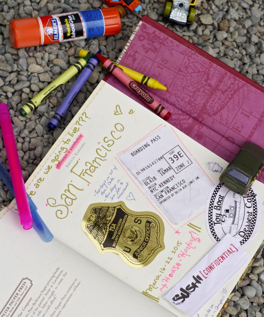 travel diary family