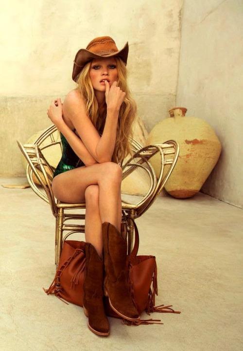 lara stone cowboy hat bohemian summer