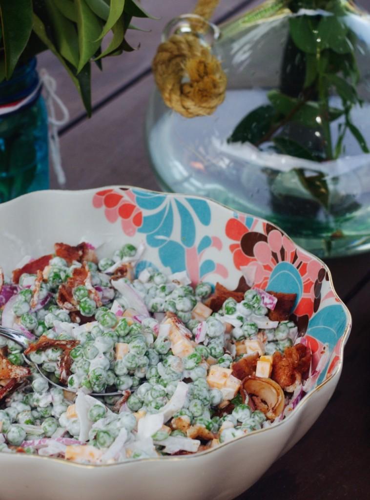 retro food 1950s salad